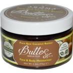 Aroma Naturals Body Butter – Pure Raw Coconut – 3.3 oz