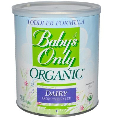 Baby's Only Organics Dairy Based Formula Iron Fortified – 12.7 oz - FRONT