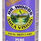 Dr. Woods Shea Vision Pure Black Soap with Organic Shea Butter 8 oz
