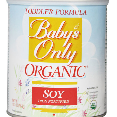 Nature's One Baby's Only Organic Soy Formula Iron Fortified
