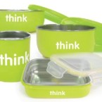ThinkBaby Complete BPA Feeding Set Green