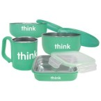 ThinkBaby Complete BPA Feeding Set Teal