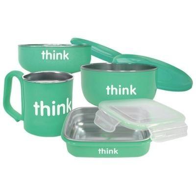 ThinkBaby Complete BPA Feeding Set Teal