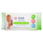 gaia skin natural baby bamboo wipes